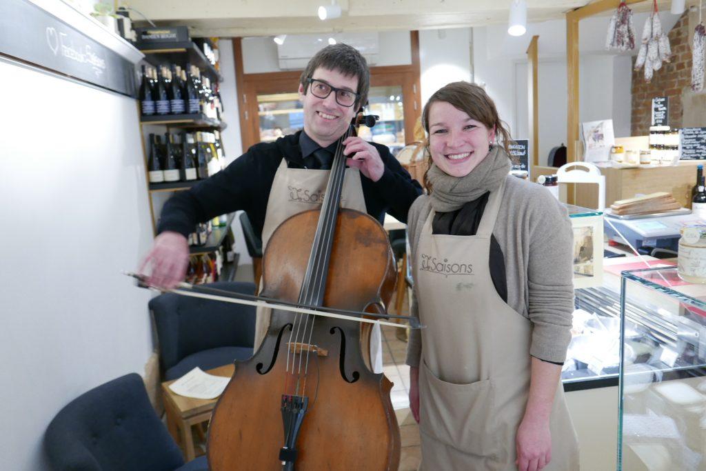 Paris 3e: fromages et musique aux Saisons