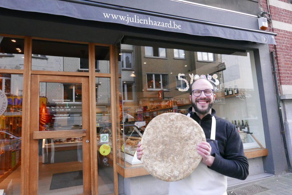 Bruxelles : le fromage selon Julien Hazard
