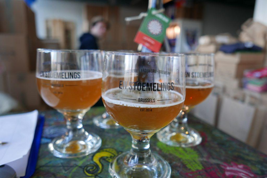 Bruxelles: la bière selon Samuel et Denys