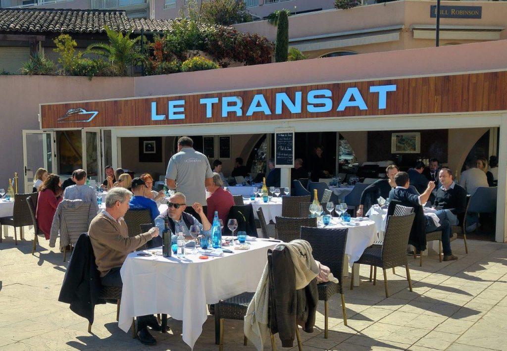 Le transat restaurant antibes la nouvelle alchimie de for Restaurant antibes