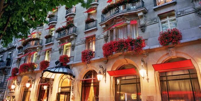 Paris 8e : mon pipi chez les riches … au Plaza