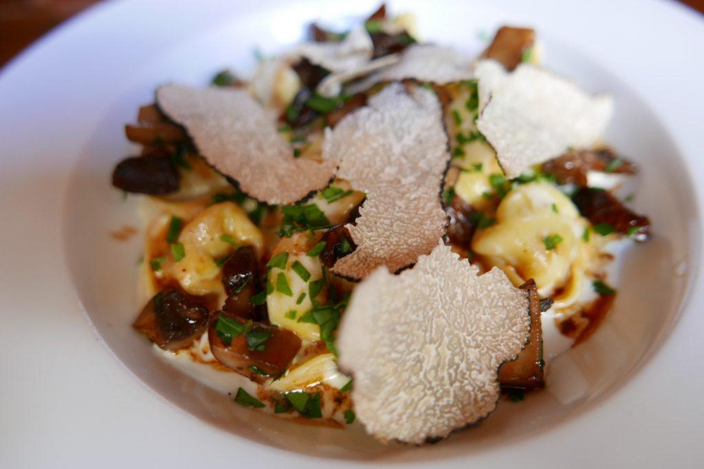 Tortelloni aux truffes © GP