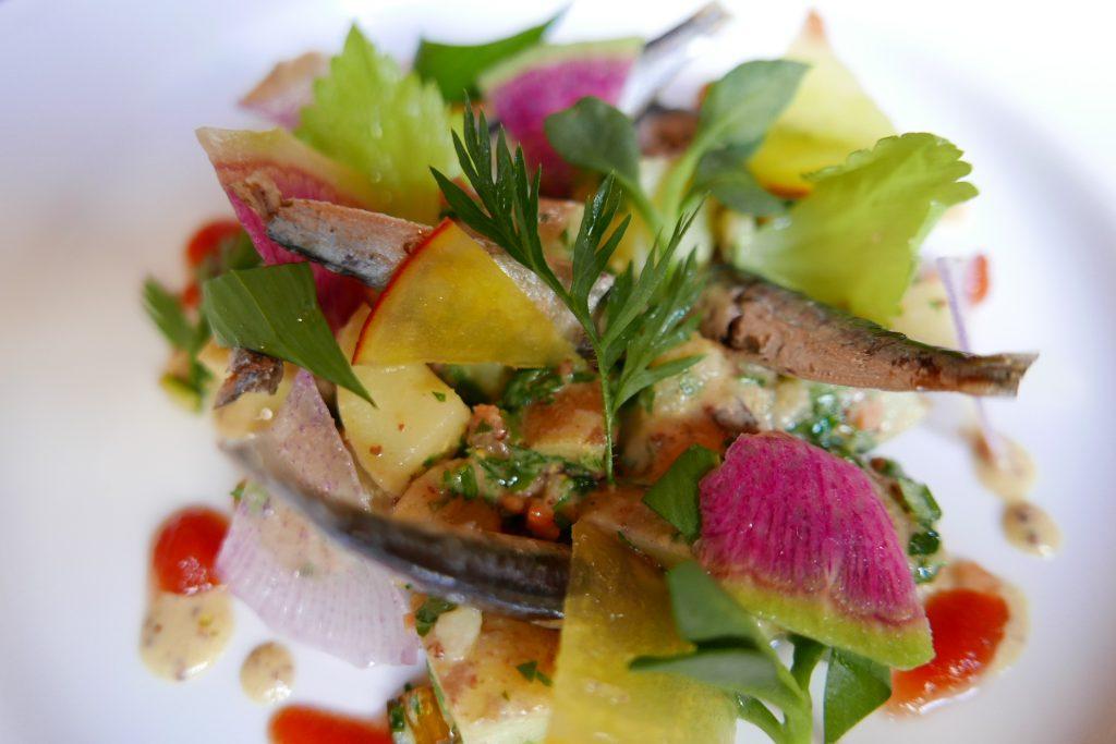 Salade de sardines © GP