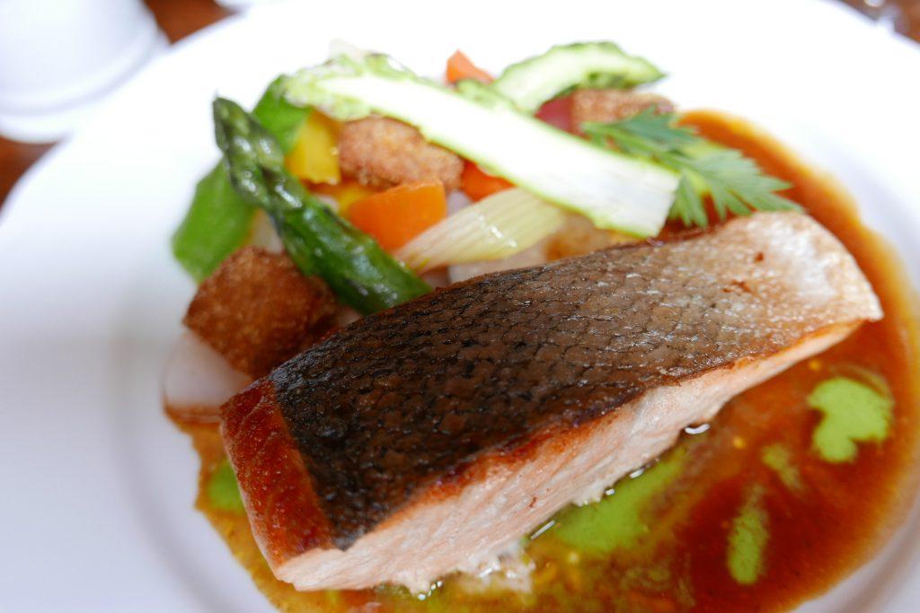 Pavé de saumon © GP