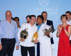 Les vainqueurs en compagnie de Madame Loiseau et Jean-Jacques Vallet, CEO du Groupe Constance ©Yahia Nazroo