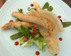 Croustillant de bar moucheté sur lit de salade © GP