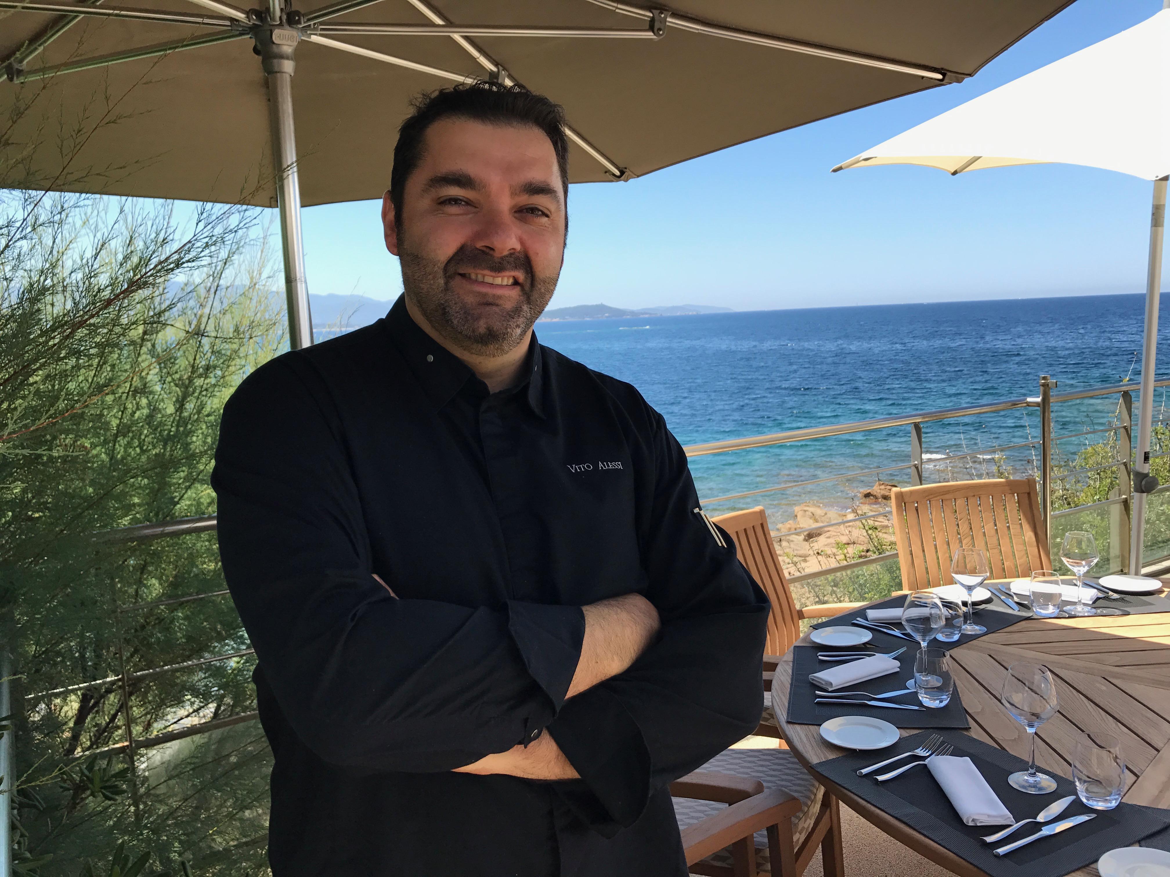 La carte postale au sofitel golfe d ajaccio restaurant for Dans nos coeurs 35