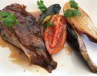 Jarret de veau caramélisé et légumes © GP
