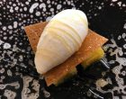 Sorbet blanc manger, miel, huile d'olive de Kalamata ©GP