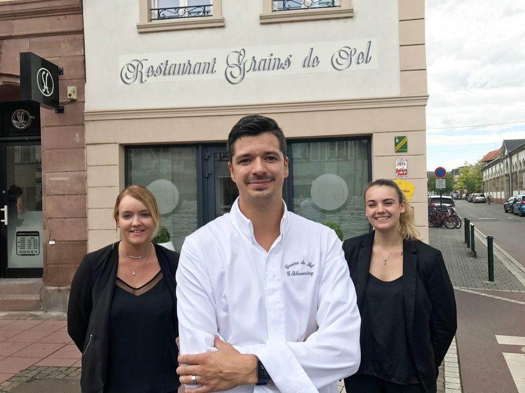 Grains de sel restaurant haguenau l 39 av nement de gilles - La table des chevaliers haguenau ...