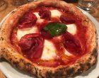 Pizza margherita et bresaola © GP