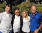 Arnaud Faye, Claire Verneil, Patrick Raingeard et Christian Le Squer ©AA