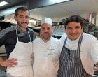 Erwan Louaisil, Jean Christophe Moreau et Mauro Colagreco © AA