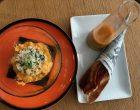 Émietté de tourteau au jus de bouillabaisse et ses chips au safran © GP