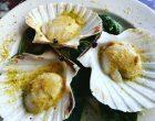 Saint-jacques citron et pistaches © GP