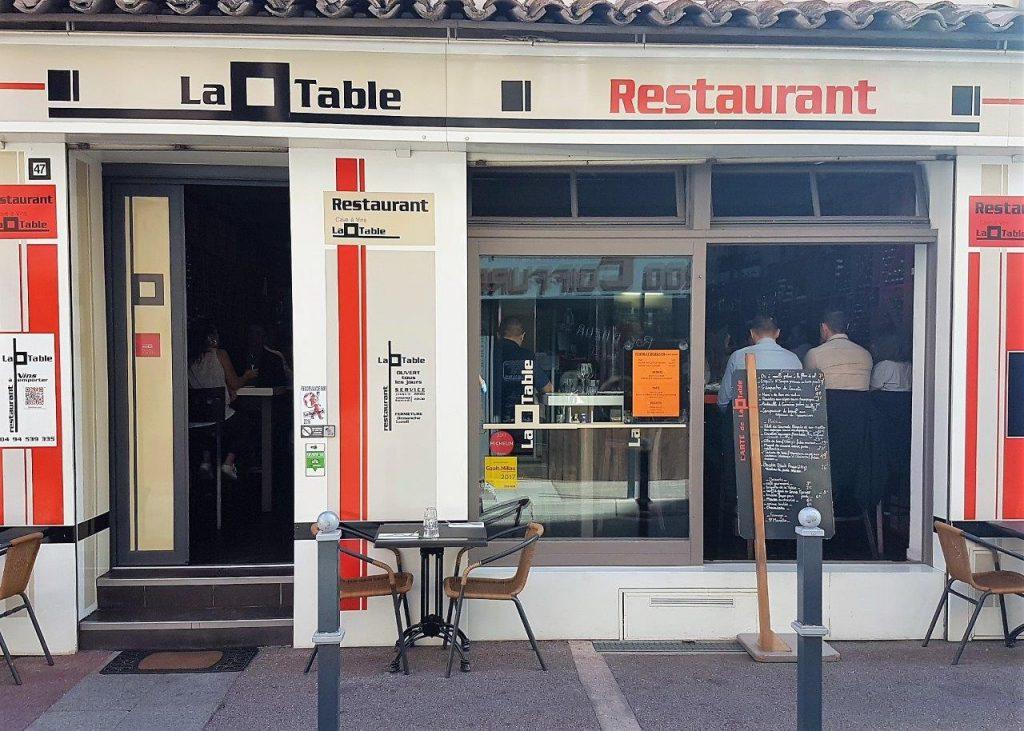 La table restaurant saint rapha l la p tite table sympa de julien et fred restaurants - Restaurant la table st raphael ...
