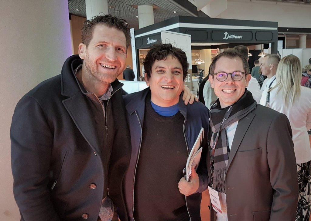 Alexandre Mazzia, Mauro Colagreco et Pascal Barbot © AA
