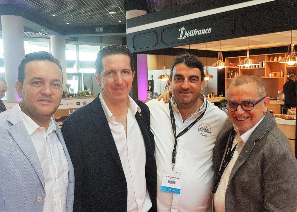 Emmanuel Renaut, Christophe Bacquie, Davide Dalmasso et Joseph Viola © AA