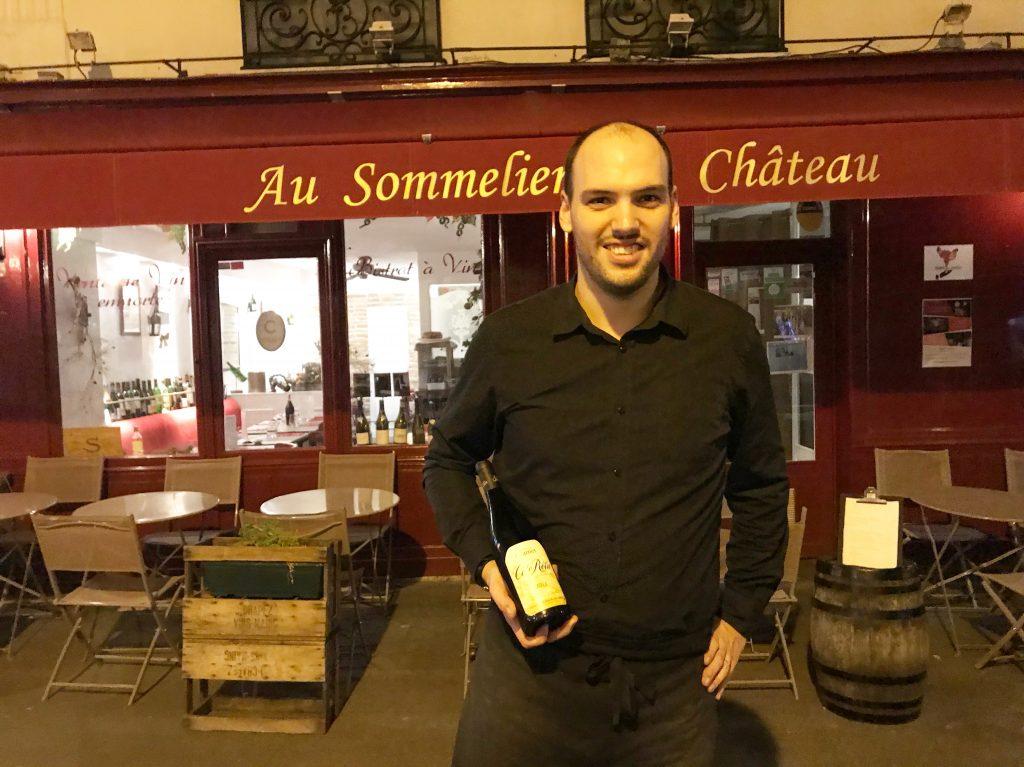 Au sommelier du ch teau restaurant fontainebleau la - Comptoir des cotonniers fontainebleau ...