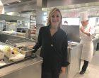 Brigitte Violier en cuisine ©GP