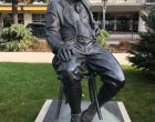 Statue de Vladimir Nabokov ©GP