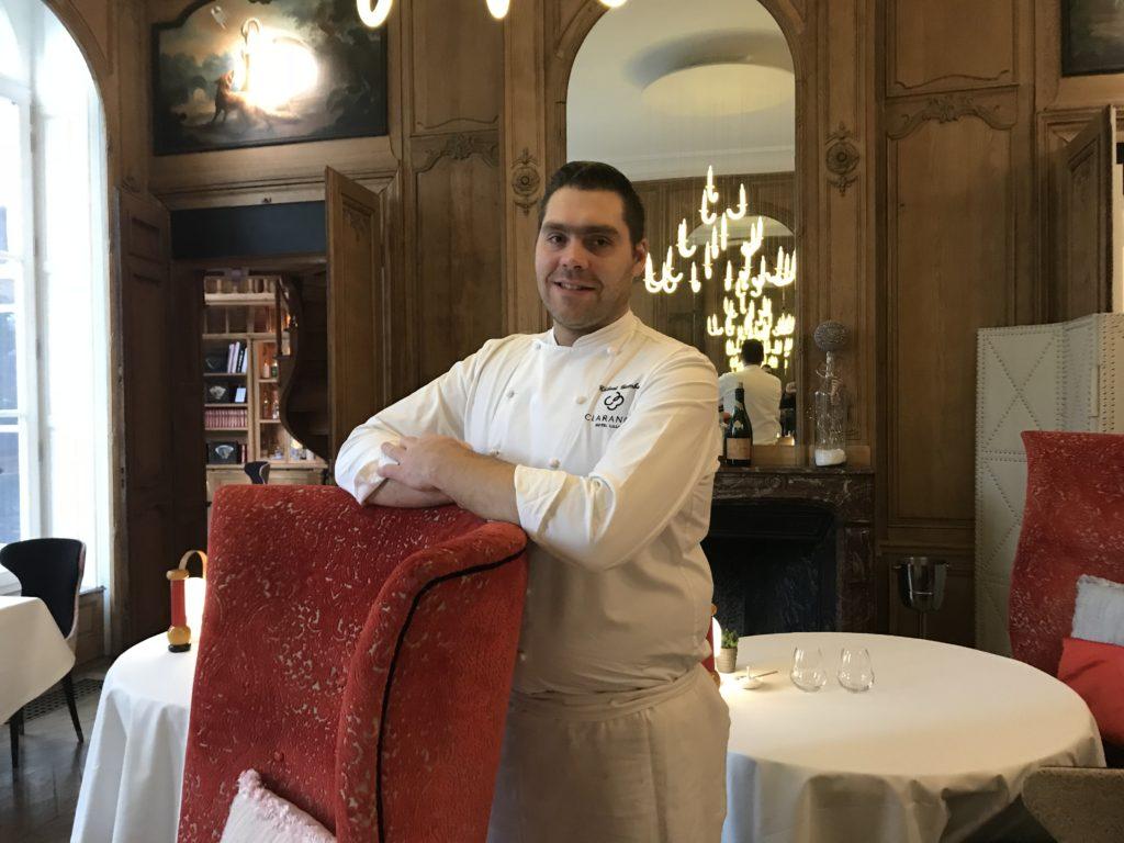 La Table A L Hotel Clarance Restaurant Lille La Bombe Gamba Au