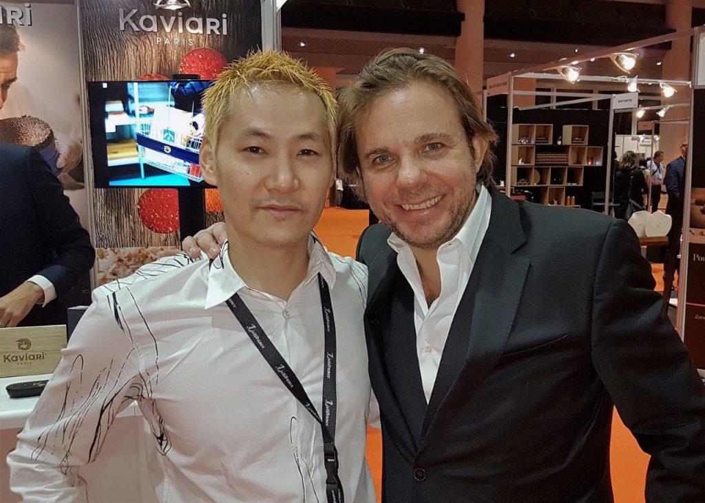 Kei Kobayashi et Nicolas Sale © AA