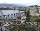 Vue sur le lac et la ville © GP