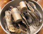 Croustillant d'huître, framboises, échalotes ©GP