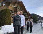 Louise et Eric Baumer à l'accueil ©GP