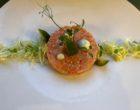 Tartare de saumon d'Ecosse au sésame, wasabi, piment et avocat ©GP