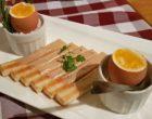 Œufs coque et mouillettes au foie gras © AA