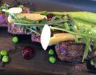 La tagliata de bœuf avec roquette et fromage d'alpage © GP