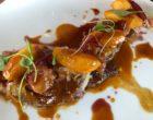 Foie de veau « classique », oignons, lard, pomme caramélisée ©GP