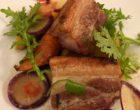 Poitrine cochon fermier, carottes et abricots moelleux ©GP