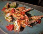 Grosses crevettes rôties © AA