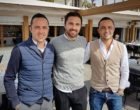 Hugo Lecorche, Freddy Araneo et Antoine Lecorche © AA