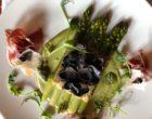 Asperges, jambon iberico et truffes © GP