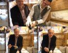 Jacques Trauchessec et le service de la fondue aux truffes © GP