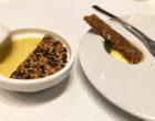 Amuse bouche : royale de foie gras au sésame © GP