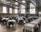 Zurich :  manger au chantier naval