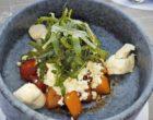 Salade de pastèque, melon, bonbons de mozzarella ©AA