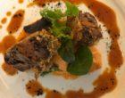 Joue de porc noir de Bigorre braisée au piment de la Vera © GP