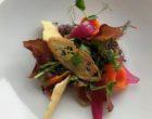 Salade D'cadei au caviar d'aubergine fumé © GP