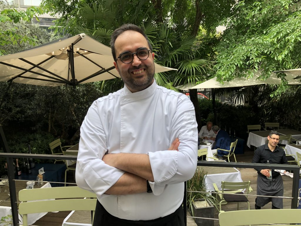 La Table Du Huit Restaurant Paris 8e Coup De Fouet Italien A La