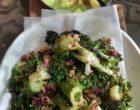 Brocoli et condiment tahini © GP