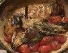 Daurade rôtie avec ses légumes au thym ©GP