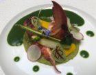 Homard bleu rafraîchi, légumes à la grecque et coriandre ©GP