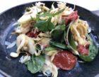 Salade d'artichauts beurrés à cru © GP