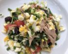 Ventrèche de thon en salade niçoise © GP